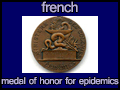 french medal of honor for epidemics