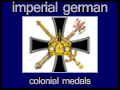 imperial german colonial medals